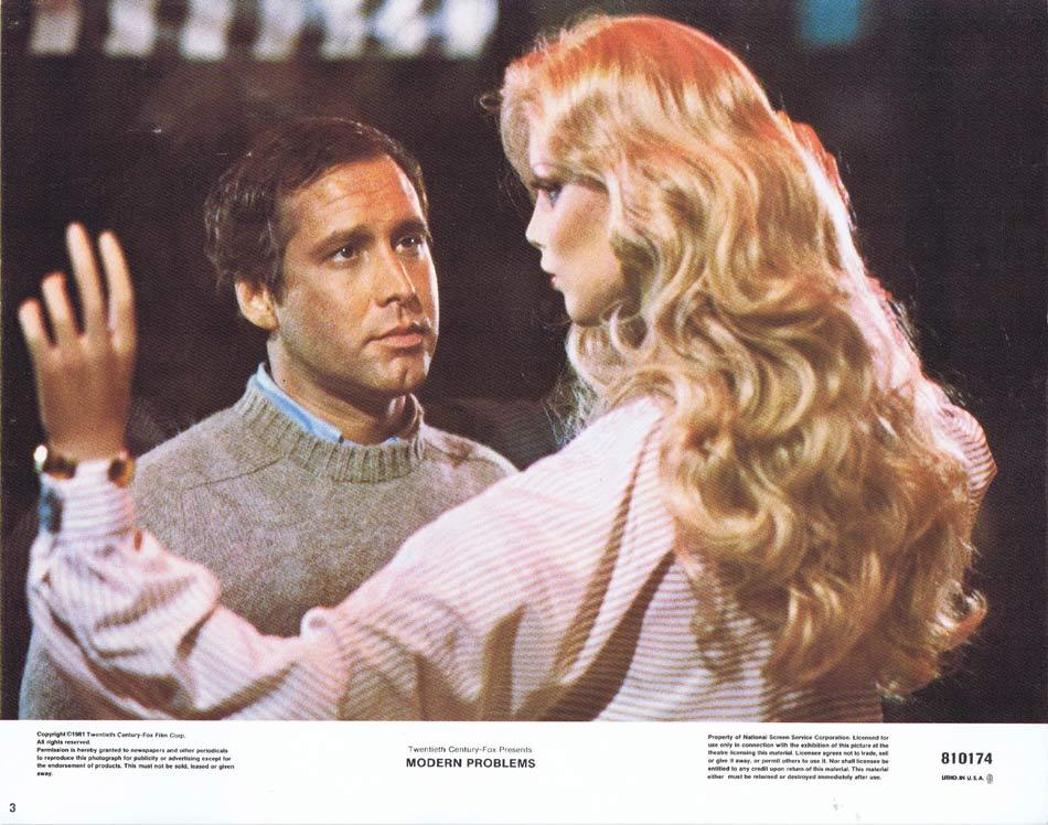 MODERN PROBLEMS Lobby Card 3 Chevy Chase Patti D'Arbanville Dabney Coleman
