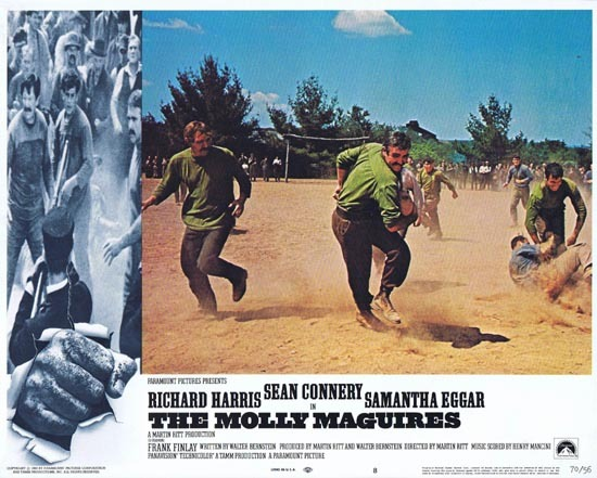 THE MOLLY MAGUIRES Lobby Card 8 1970 Sean Connery Richard Harris