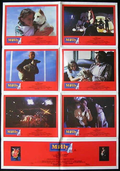 MOLLY '83 Garry McDonald AUSTRALIAN FILM Circus Photo Sheet Movie poster