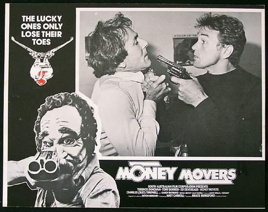 MONEY MOVERS 1978 Bruce Beresford RARE Lobby Card 3