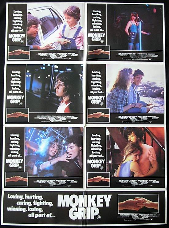 MONKEY GRIP '82 Friels AUSTRALIAN FILM Photo sheet Movie poster