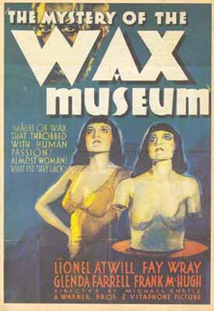THE MOVIE Magazine No. 47 The Wax Museum Atwill Wray Cover