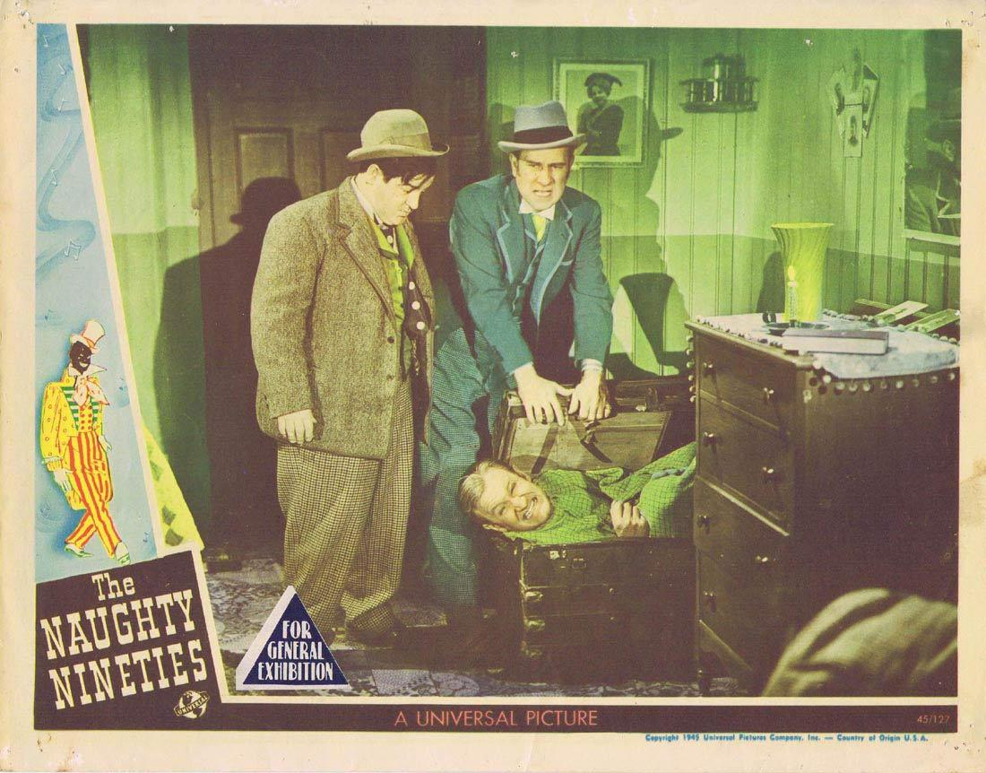 THE NAUGHTY NINETIES Lobby Card 2 Abbott and Costello