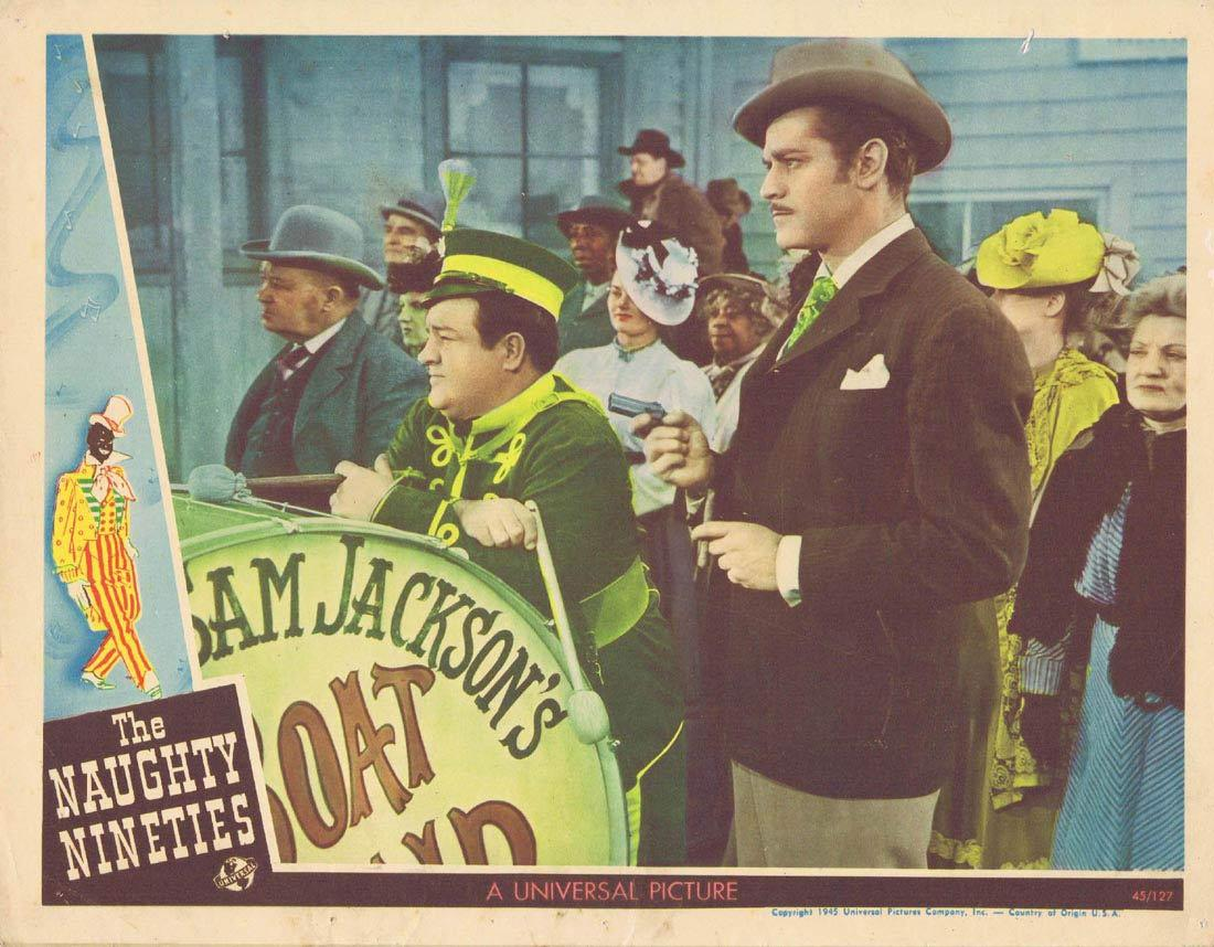 THE NAUGHTY NINETIES Lobby Card 7 Abbott and Costello
