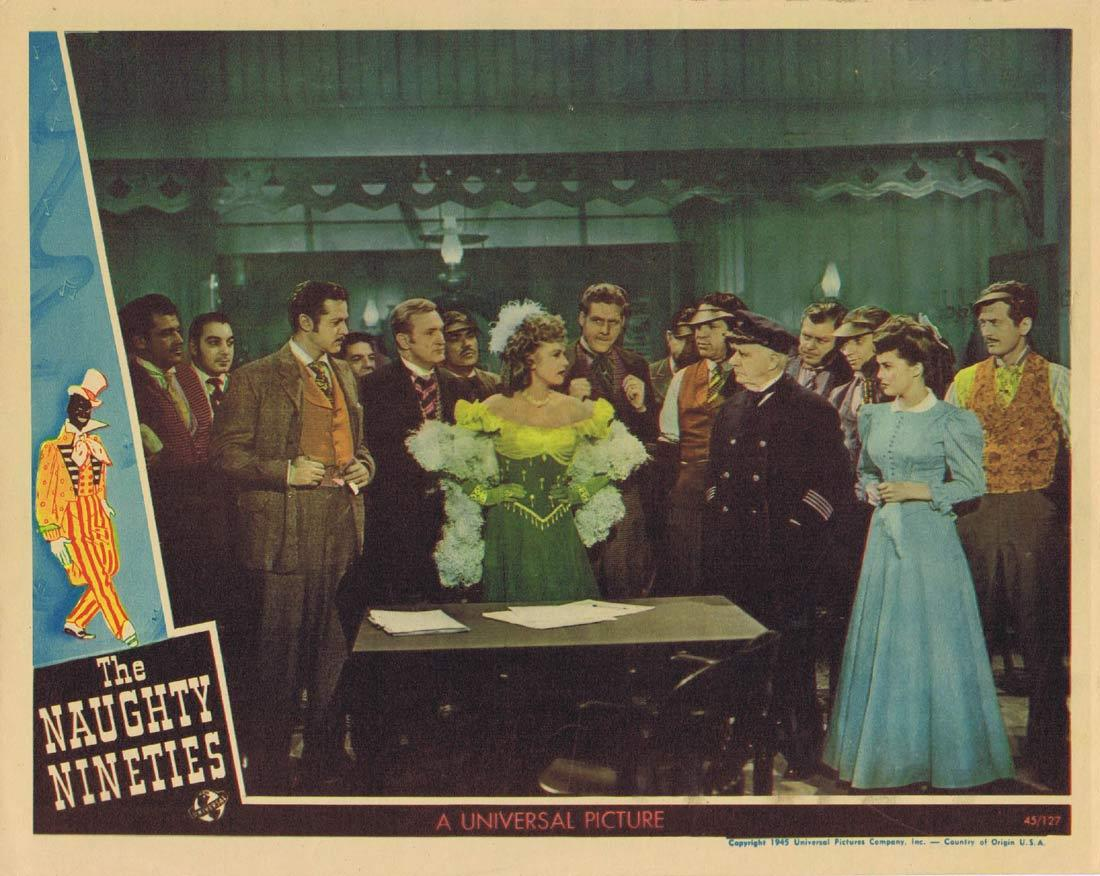 THE NAUGHTY NINETIES Lobby Card 8 Abbott and Costello