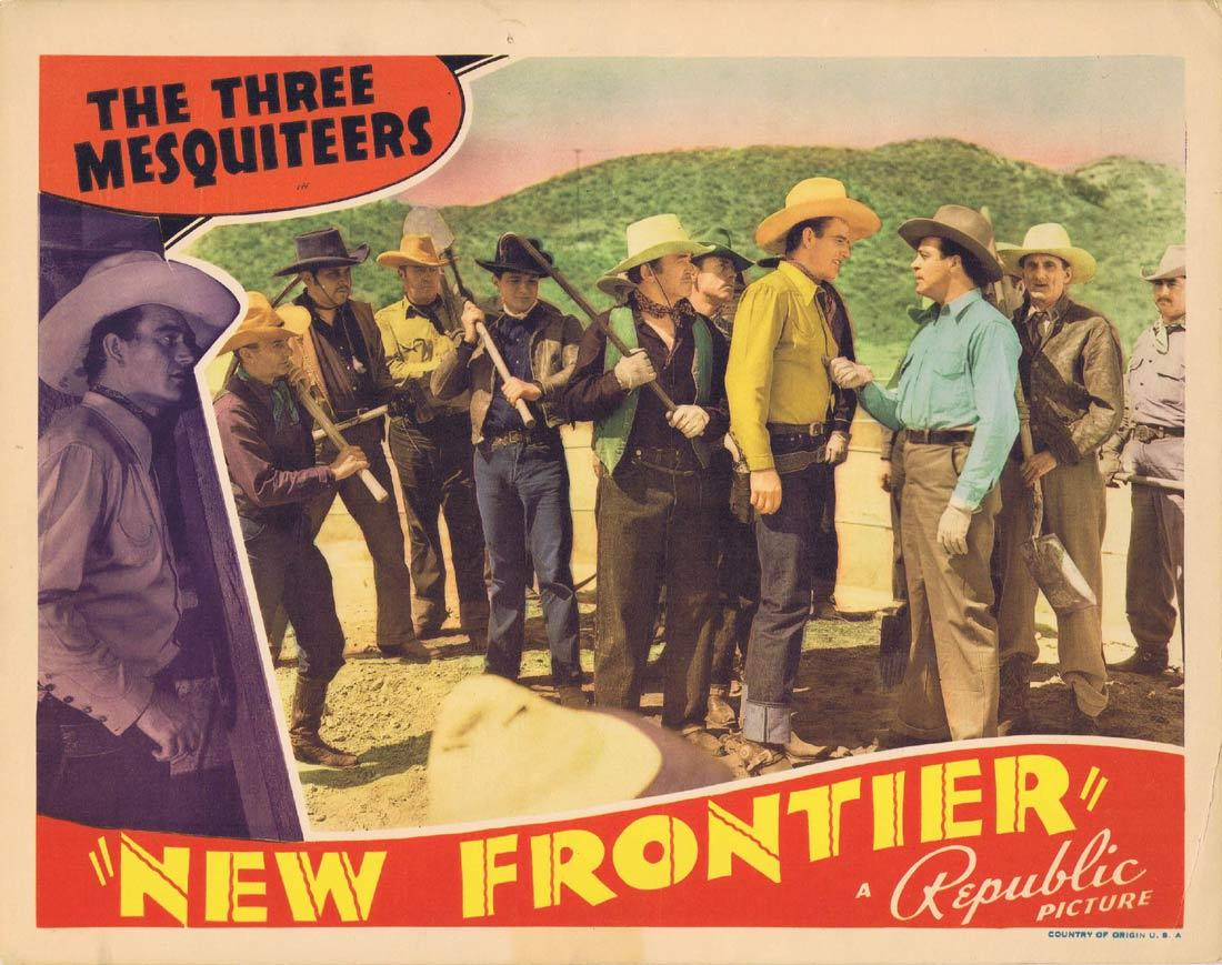 New Frontier, George Sherman, John Wayne Ray Corrigan Raymond Hatton Jennifer Jones