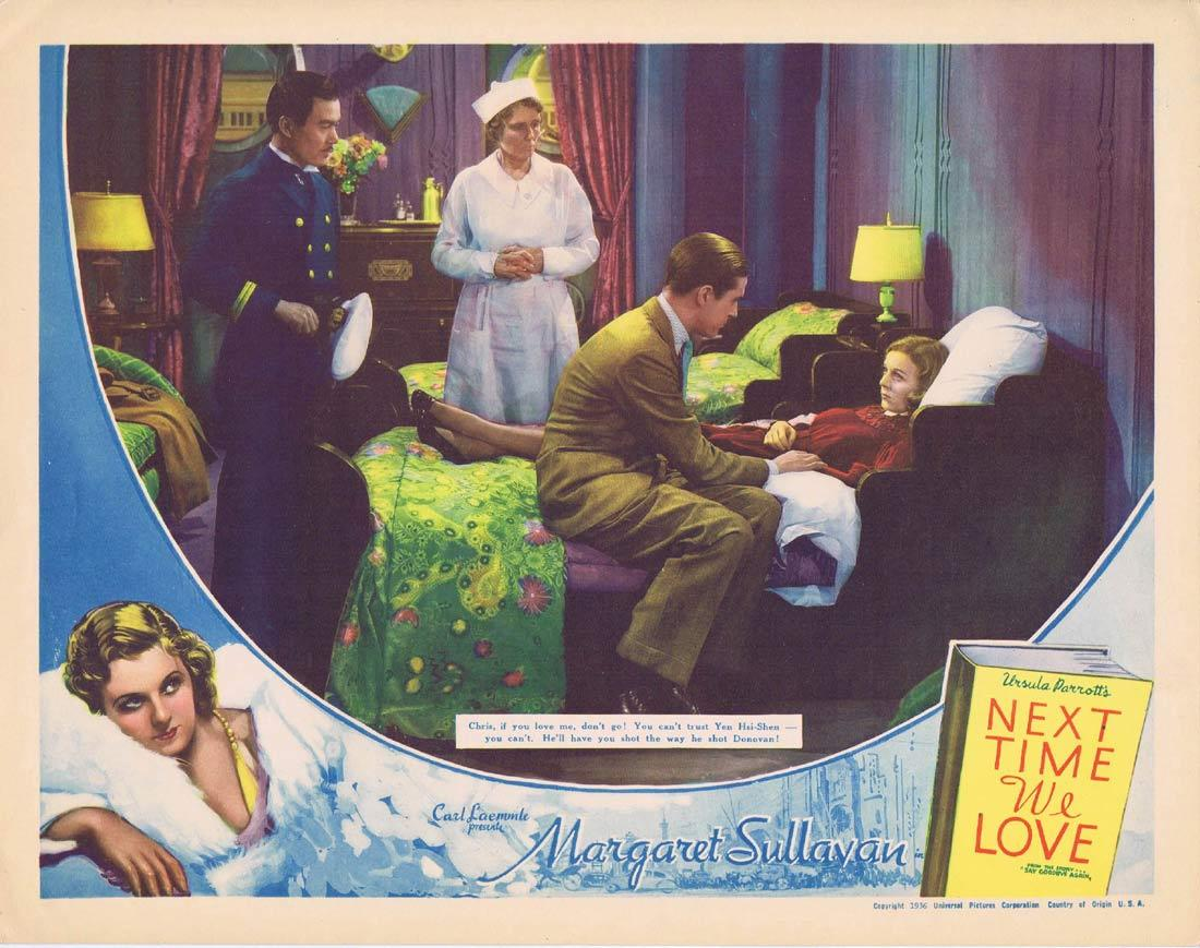 NEXT TIME WE LOVE Vintage Lobby Card 1936 Margaret Sullavan James Stewart Ray Milland
