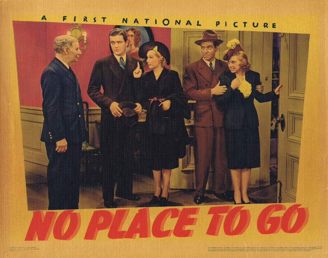 NO PLACE TO GO Lobby Card 6 Dennis Morgan Gloria Dickson Fred Stone 1939