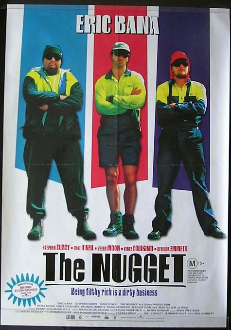 THE NUGGET Eric Bana Australian 1 sheet Movie poster