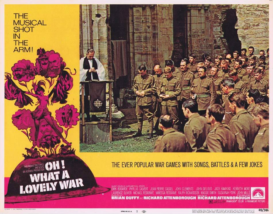 OH WHAT A LOVELY WAR Lobby Card 7 Maggie Smith Dirk Bogarde Phyllis Calvert
