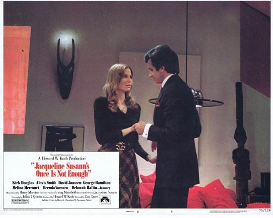 ONCE IS NOT ENOUGH 1975 George Hamilton US Lobby card 4