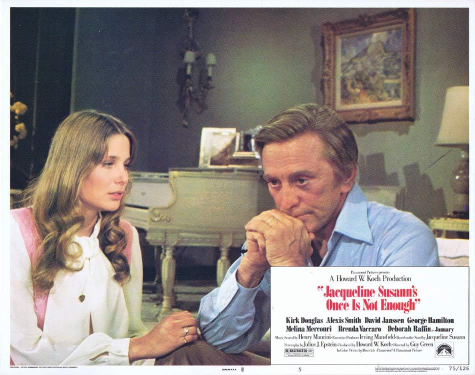 ONCE IS NOT ENOUGH Lobby Card 5 Kirk Douglas Alexis Smith David Janssen
