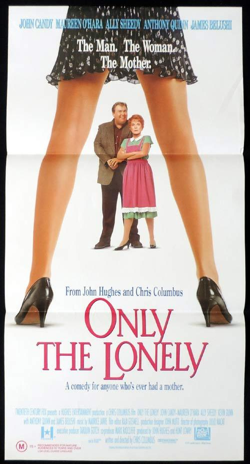 ONLY THE LONELY Original Daybill Movie Poster JOHN CANDY Maureen O'Hara