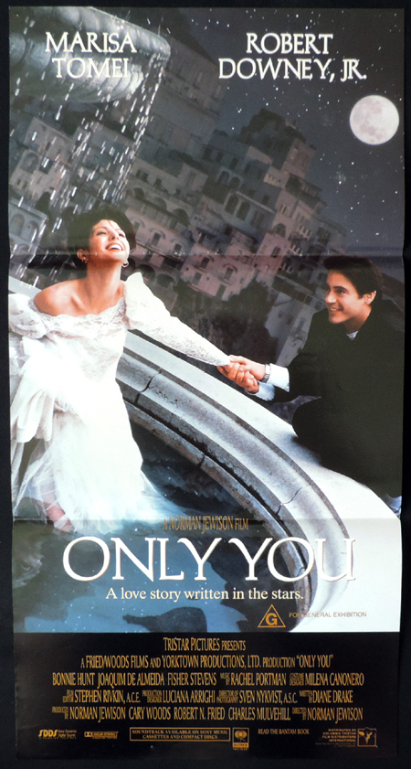 ONLY YOU Original Daybill Movie poster Marisa Tomei Robert Downey Jr