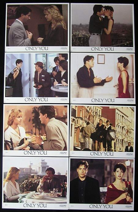 only you lobby card set 1994 marisa tomei robert downey jr