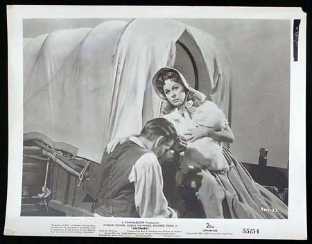UNTAMED '55 Susan Hayward Tyrone Power RARE Original Movie Still #4 - Untamed (1955)