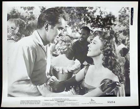 UNTAMED '55 Susan Hayward Tyrone Power RARE Original Movie Still #14