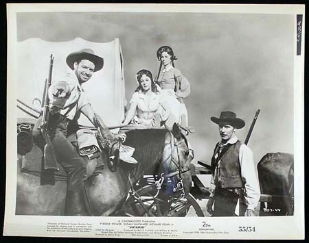 UNTAMED '55 Susan Hayward Tyrone Power RARE Original Movie Still #16