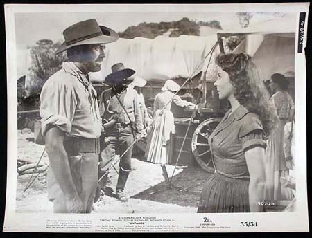 UNTAMED '55 Susan Hayward Tyrone Power RARE Original Movie Still #18