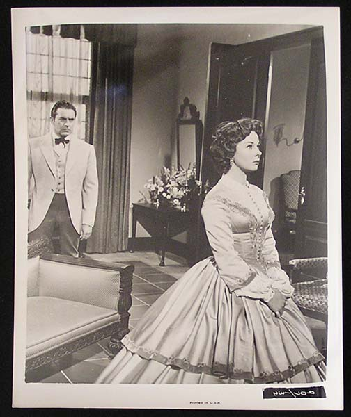 UNTAMED '55 Susan Hayward Tyrone Power RARE Original Movie Still #28