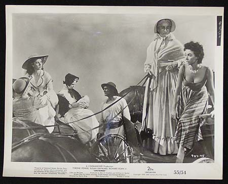 UNTAMED '55 Susan Hayward Tyrone Power RARE Original Movie Still #33