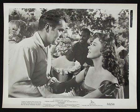 UNTAMED '55 Susan Hayward Tyrone Power RARE Original Movie Still #34