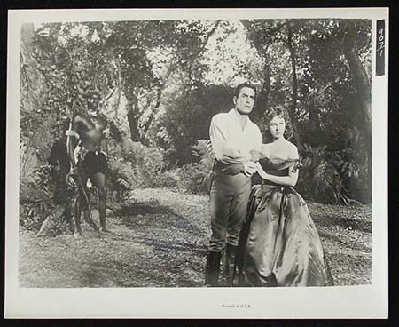 UNTAMED '55 Susan Hayward Tyrone Power RARE Original Movie Still #37