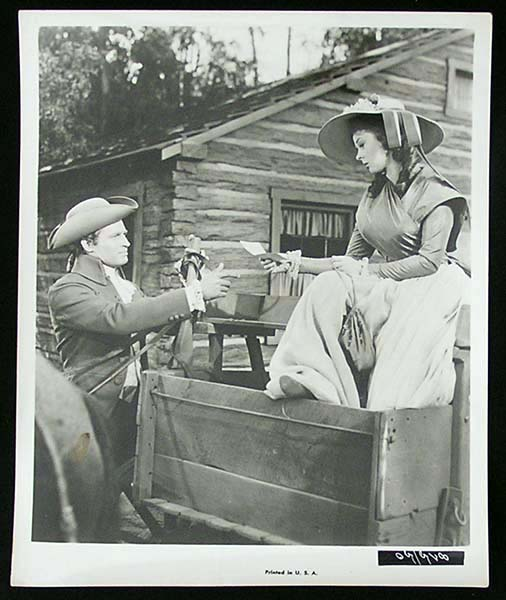 THE PRESIDENT'S LADY '53 Charlton Heston Susan Hayward RARE Original Movie Still #5