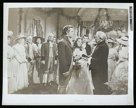 THE PRESIDENT'S LADY '53 Charlton Heston Susan Hayward RARE Original Movie Still #16