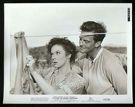 I'D CLIMB THE HIGHEST MOUNTAIN '51 Susan Hayward RARE Original Movie Still #6 - I'd Climb the Highest Mountain (1951)<br /><br /><br />Stars: Susan Hayward, William Lundigan, Rory Calhoun. <br /><br />Biography Drama Romance Methodist