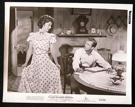 I'D CLIMB THE HIGHEST MOUNTAIN '51 Susan Hayward RARE Original Movie Still #15