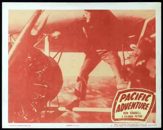 SMITHY aka PACIFIC ADVENTURE 1946 Ken G. Hall KINGSFORD SMITH Lobby Card 6