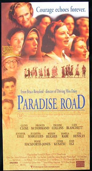 paradise road bruce beresford It was directed by bruce beresford and stars glenn close as  hulu, crackle, itunes, etc streaming paradise road find where to watch movies online now.