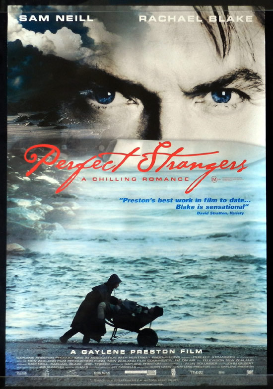 PERFECT STRANGERS Movie poster 2003 New Zealand Cinema One sheet Sam Neill