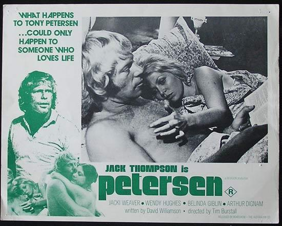 PETERSEN '74 Jack Thompson RARE Country of Origin Lobby card 7