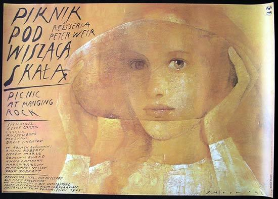 PICNIC AT HANGING ROCK Peter Weir 1992r POLISH Movie Poster