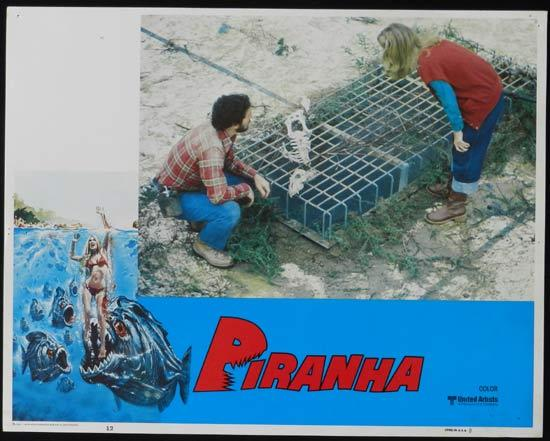 PIRANHA They're Here & They're Hungry US Lobby Card 12