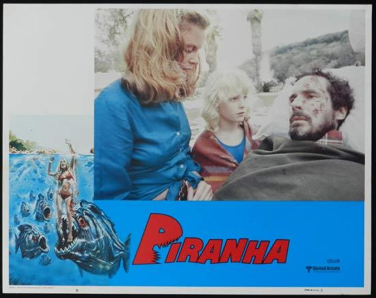 PIRANHA They're Here & They're Hungry US Lobby Card 9