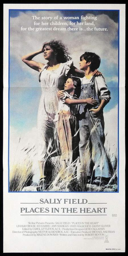PLACES IN THE HEART Original Daybill Movie Poster Lindsay Crouse Sally Field