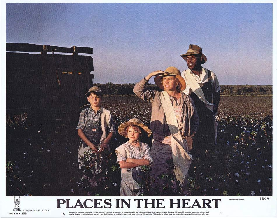 PLACES IN THE HEART Lobby Card 6 Lindsay Crouse Sally Field Ed Harris