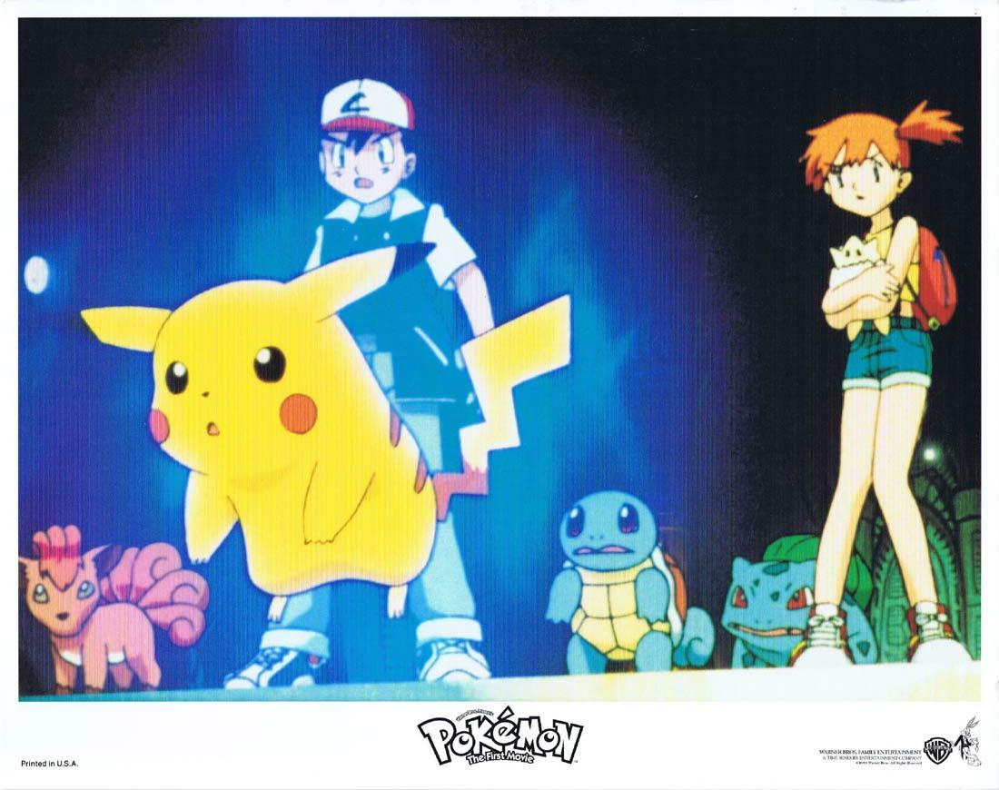 POKEMON THE MOVIE Lobby Card 1 Mewtwo Strikes Back