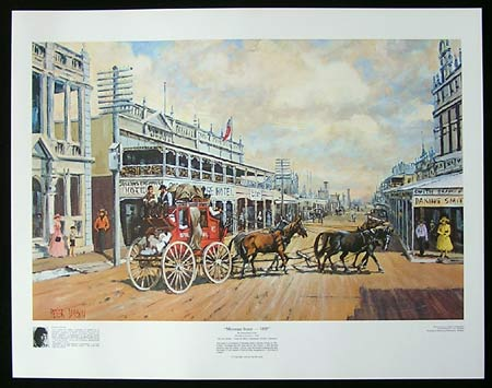 Mosman Street - 1895