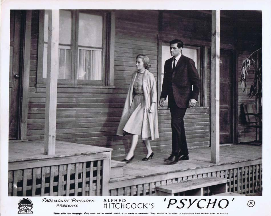 PSYCHO Front of House Movie Still 1 Alfred Hitchcock Vera Miles