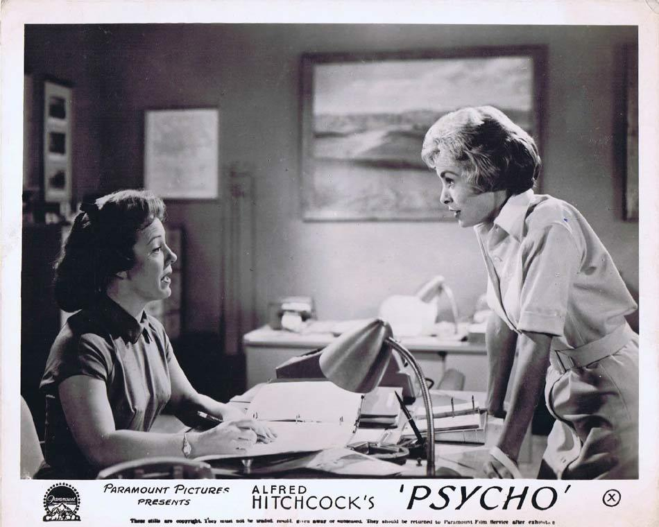 PSYCHO Front of House Movie Still 8 Alfred Hitchcock Patricia Hitchcock