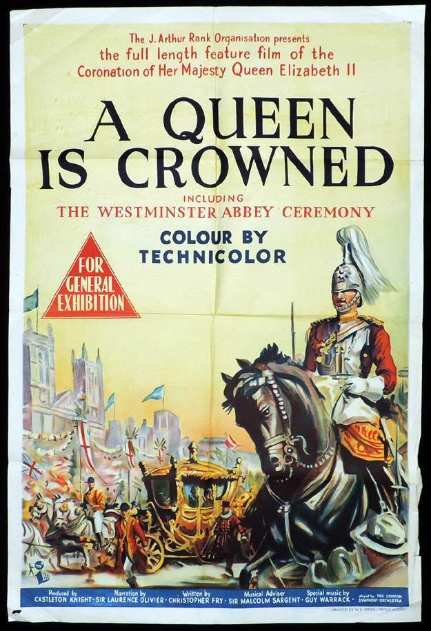 A Queen Is Crowned, Movie poster