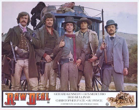 Raw Deal (1977 film) RAW DEAL 1977 Lobby Card 2 Australian Film Gus Mercurio