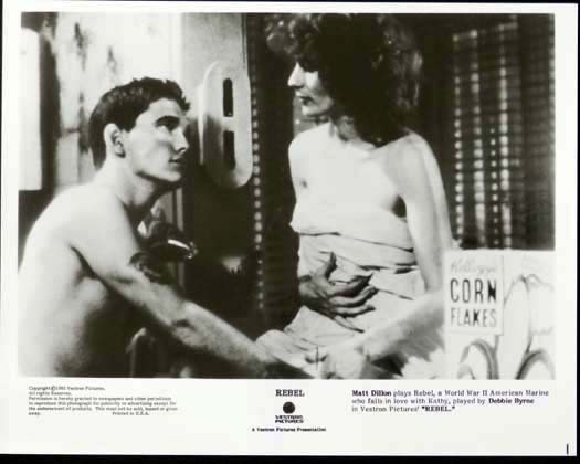REBEL 1985 Matt Dillon Bryan Brown Debra Byrne Original Movie Still 4