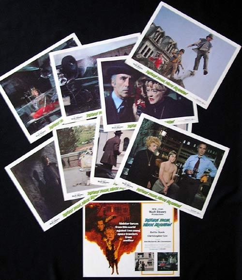 RETURN FROM WITCH MOUNTAIN Lobby Card Set Christopher Lee Bette Davis