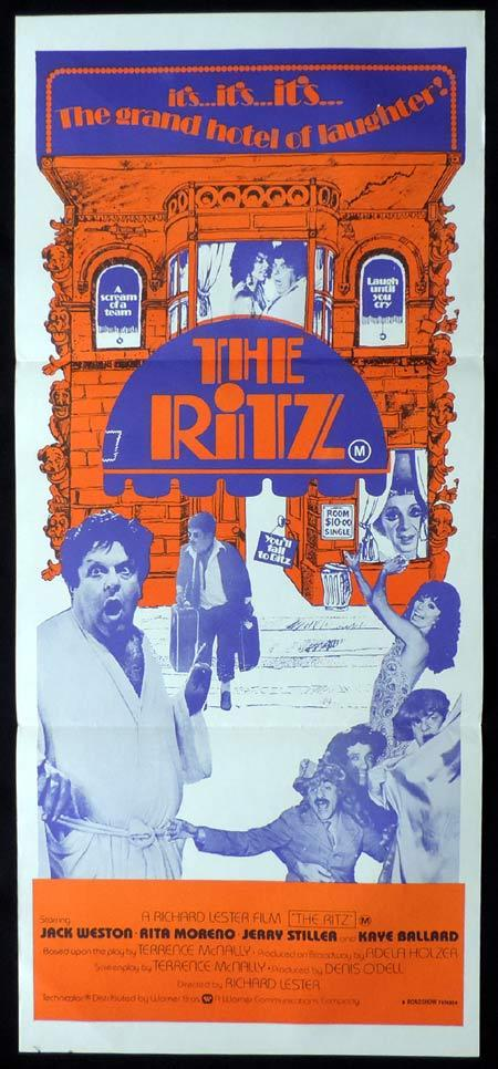 THE RITZ Original Daybill Movie Poster Jack Weston Jerry Stiller