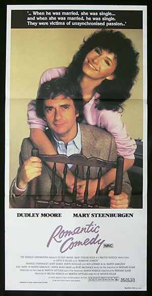 ROMANTIC COMEDY '83 Australian Daybill Movie Poster Dudley Moore